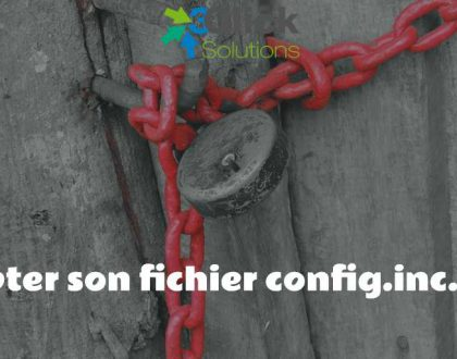 Crypter son fichier config.inc.php