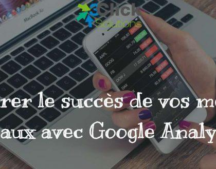 Mesurer le succès de vos médias sociaux avec Google Analytics