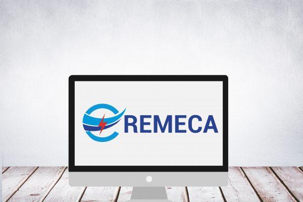 Logo de la société EREMECA - Équipements et Réalisations Électromécanique (technologies et de services en conception-construction,exploitation,maintenance)