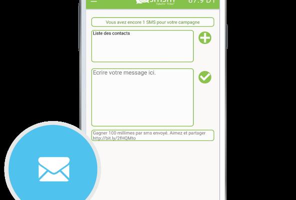 SMSM application d'envoi de sms