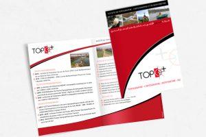 brochure de présentation de Topo+