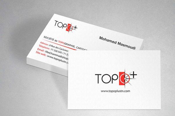 carte de visite Topo+