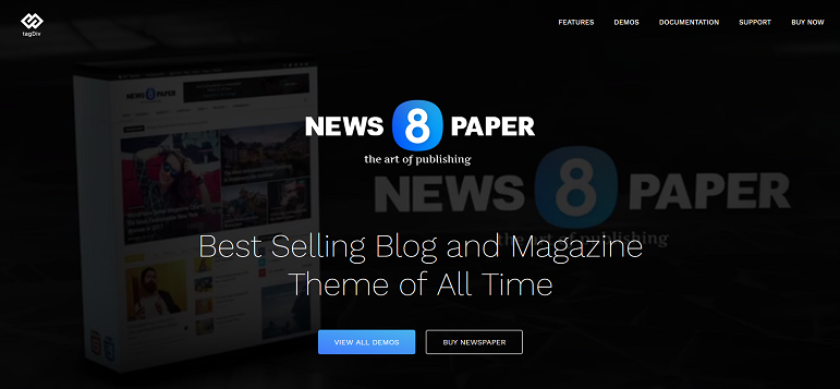Newspaper thème wordPress