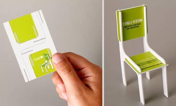 Architecte d'intérieur - 25 designs créatifs pour des cartes de visite originales