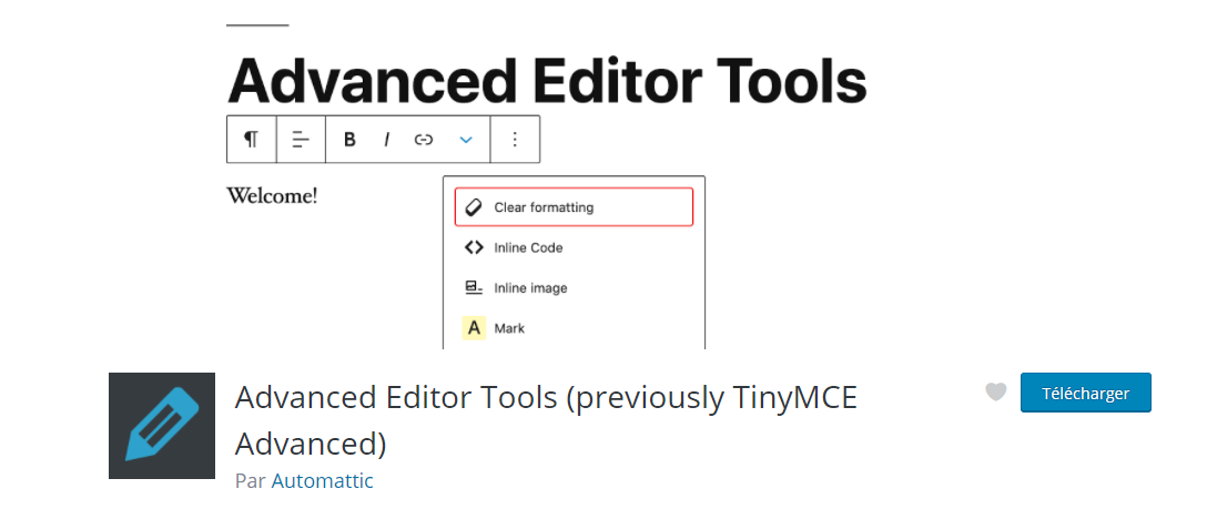 Advanced Editor tools