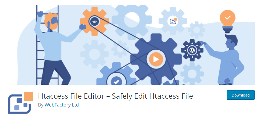 Plugin d'édition d'un fichier .htaccess pour WordPress