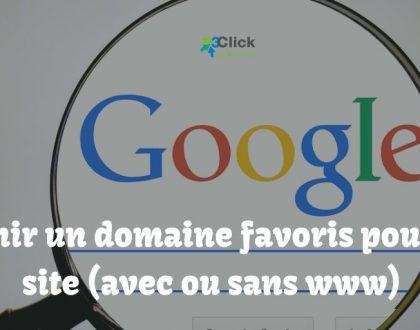 Définir un domaine favoris pour son site (avec ou sans www)