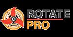 Projet en PHP5, logo Rotate Pro