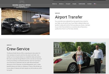 service de location de voiture de luxe avec chauffeur en Allemagne
