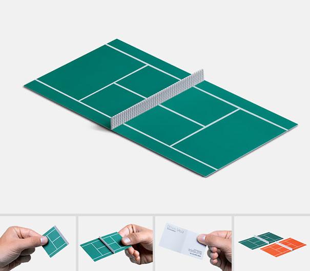 Entraîneur de tennis - 25 designs créatifs pour des cartes de visite originales