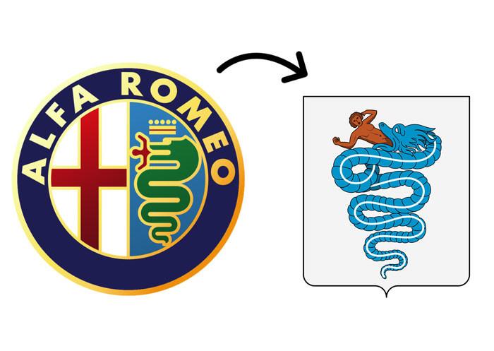 Le vrai sens du logo Alfa Romeo