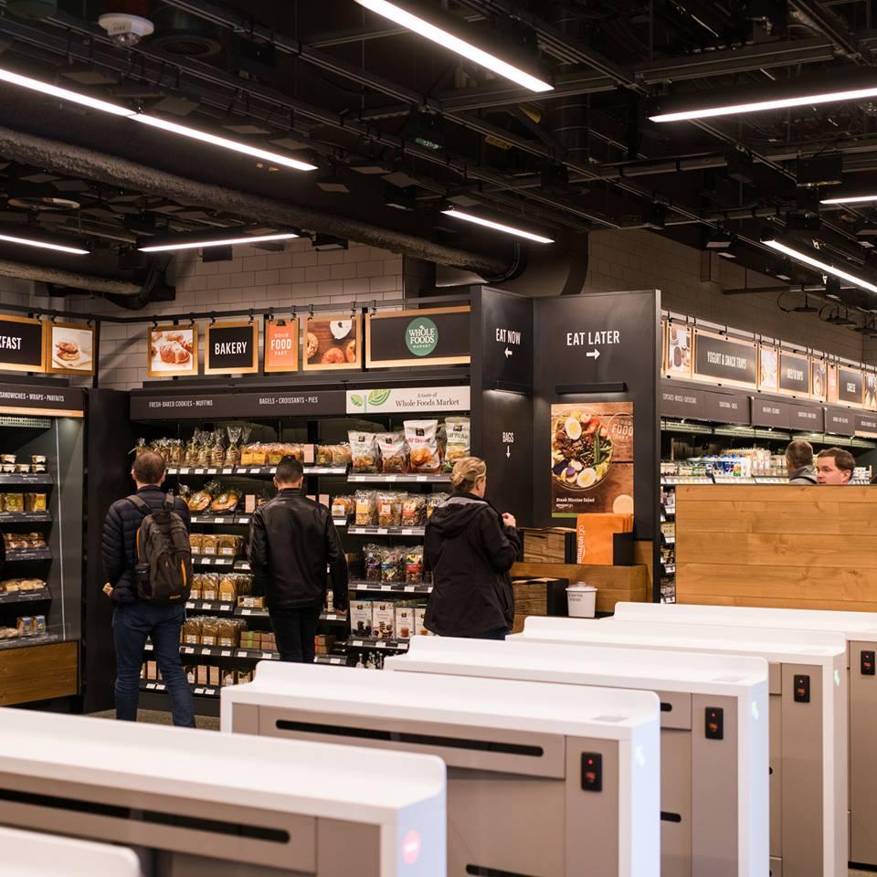 Amazon Go : Le magasin sans caisses d'Amazon à Seattle, aux états unis