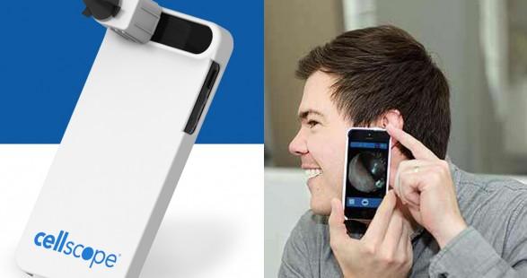 Faire du smartphone un kit d'aide médicale avec Cellscope