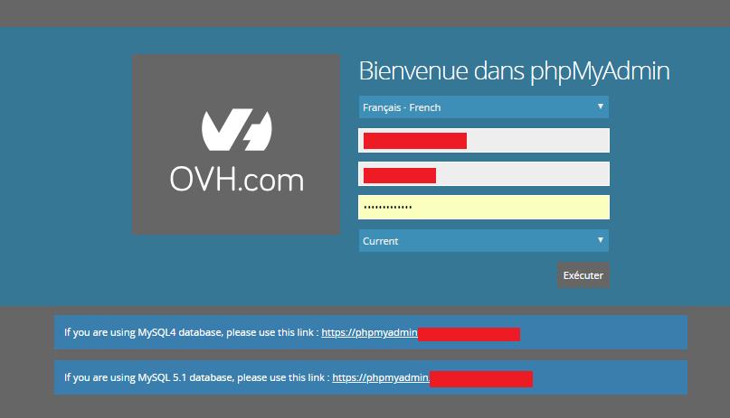 vérifier que vous n'avez pas de problème de connexion à la base de données WordPress
