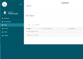 PM Labo Application en ligne pour la gestion des patients