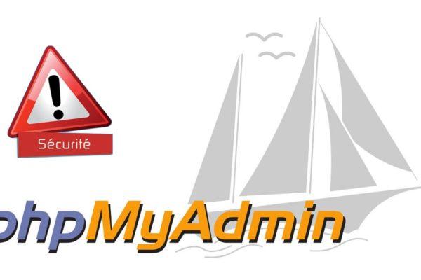 Améliorer la sécurité d'accès à phpMyAdmin